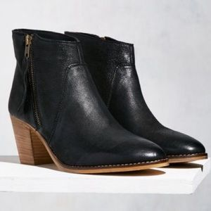 Urban Outfitters Faye Leather Booties